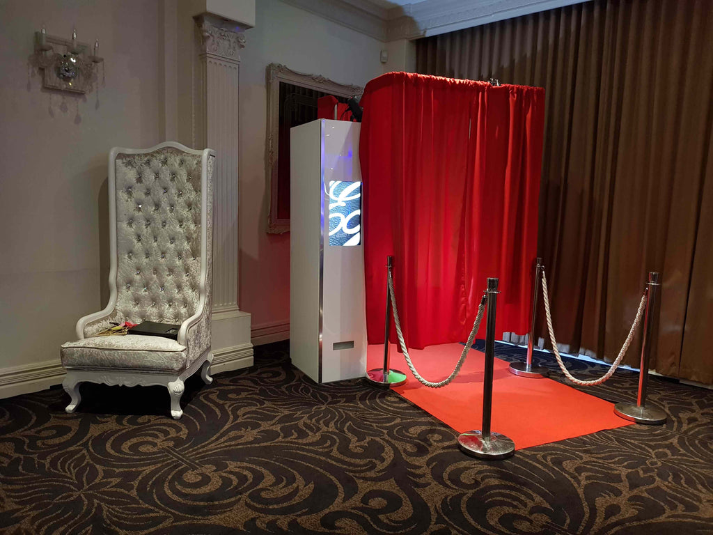 SelfieME! HD Studio Photo Booth (with Curtain) - Crystal Doll Bridal