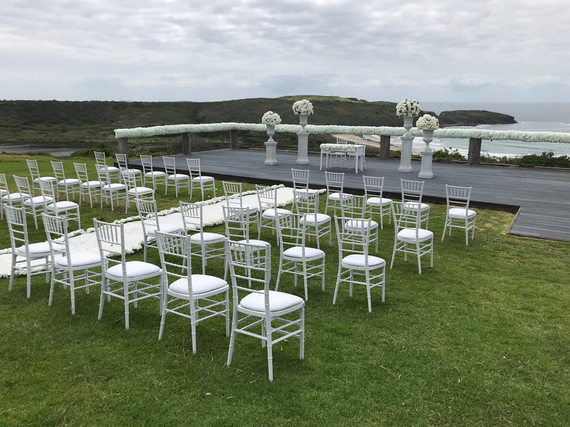 Tiffany Chair Wedding Ceremony Package (42 pieces)