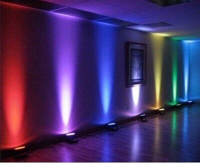 Wireless Coloured LED Lighting