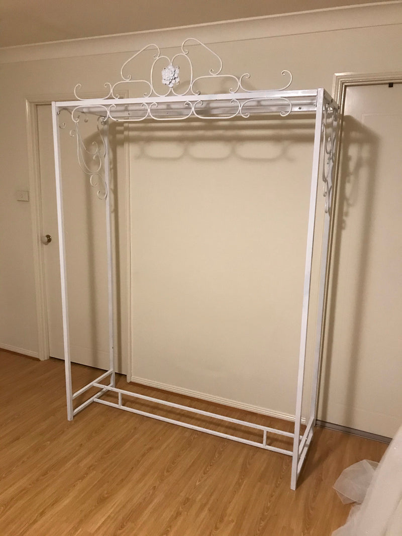 Bridesmaids Dress Rack - Crystal Doll Bridal
