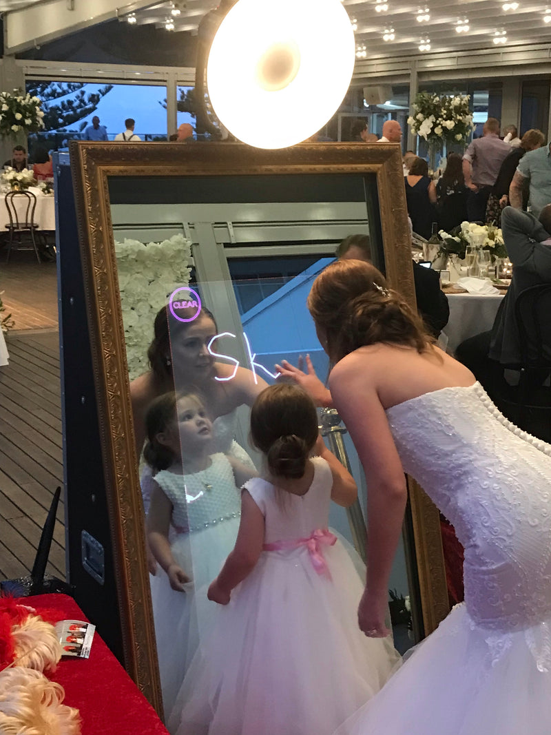 SelfieMe! Mirror Booth - Crystal Doll Bridal