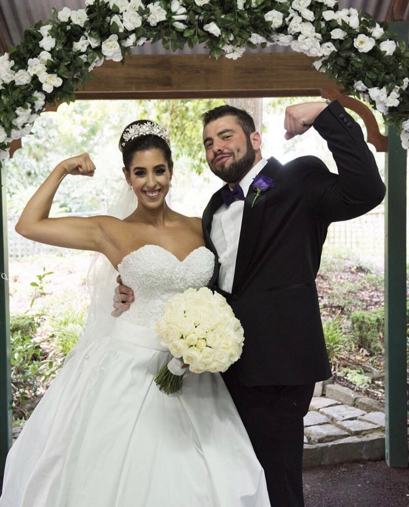 NEW! Rose Garden Wedding Arch V2!