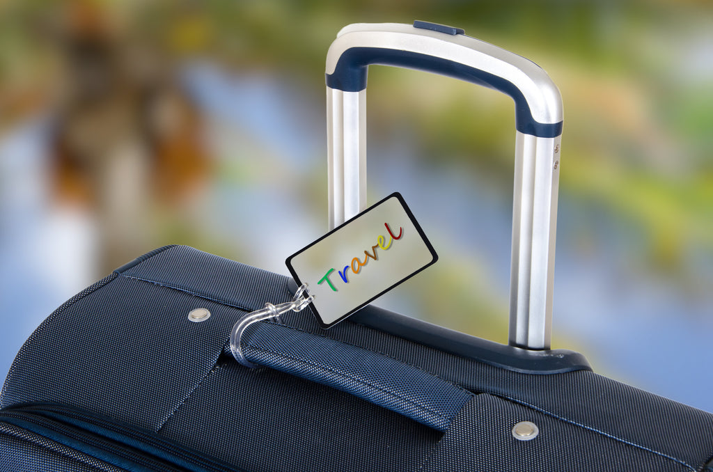 Personalized Luggage Tags Are an Essential Part of Any Family Vacation
