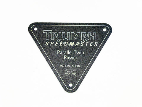 Triumph Motorcycle ID Plate