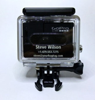 A new ID Name Tag for GoPro Cameras