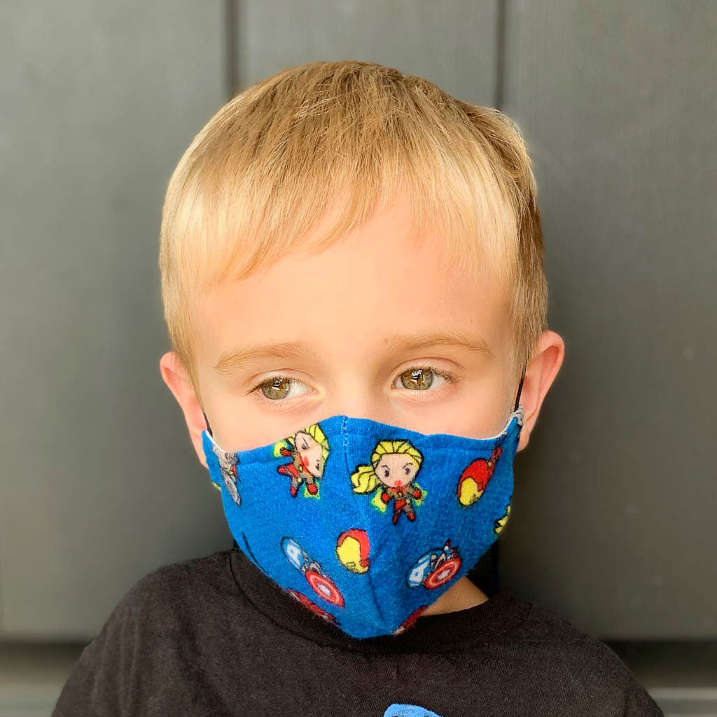 Fabric Face Masks for Children
