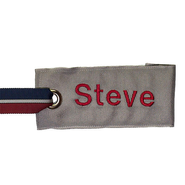 Silver Luggage Tag