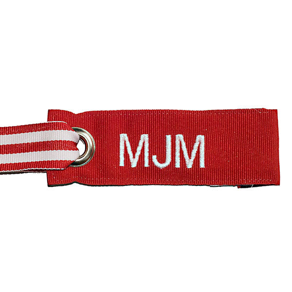 Mini Red Luggage Tag