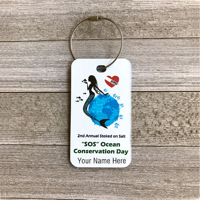 SOS Ocean Conservation Luggage Tag