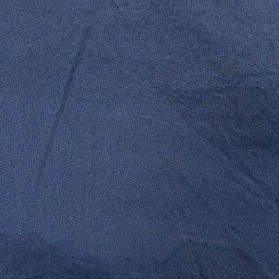 Face Mask Fabric Design Solid Navy Blue