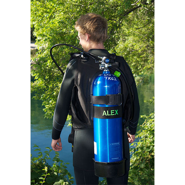 Personalized Scuba Tank Name Tag from YourBagTag