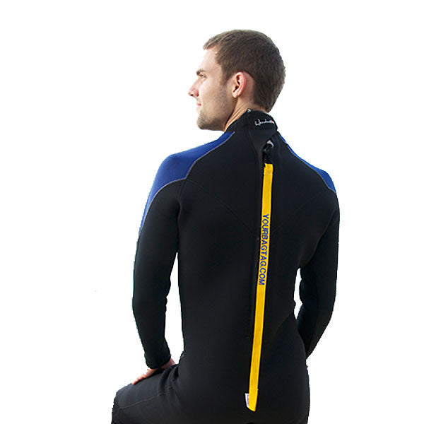 YourZipTag is a personalized zipper pull for your wetsuit