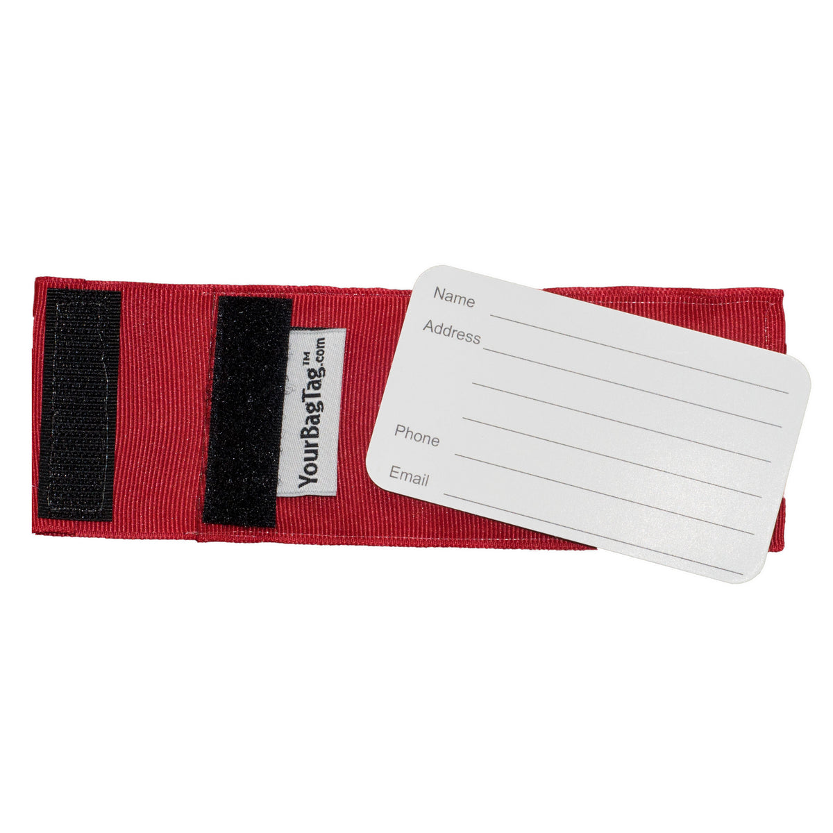 Arkansas Razorback Red Luggage Tags