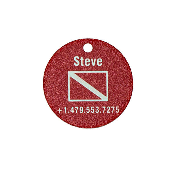 SCUBA Equipment Tag - 1.5 Inch