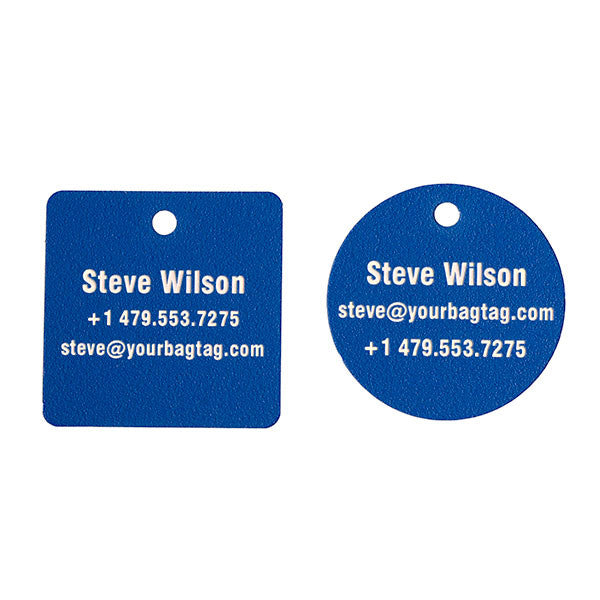 SCUBA Equipment Tags - 2 Inch