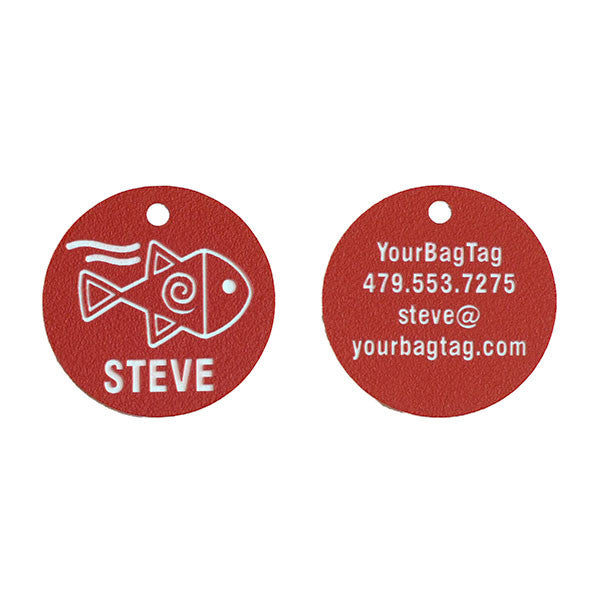 SCUBA Equipment Tag - 2 Sided