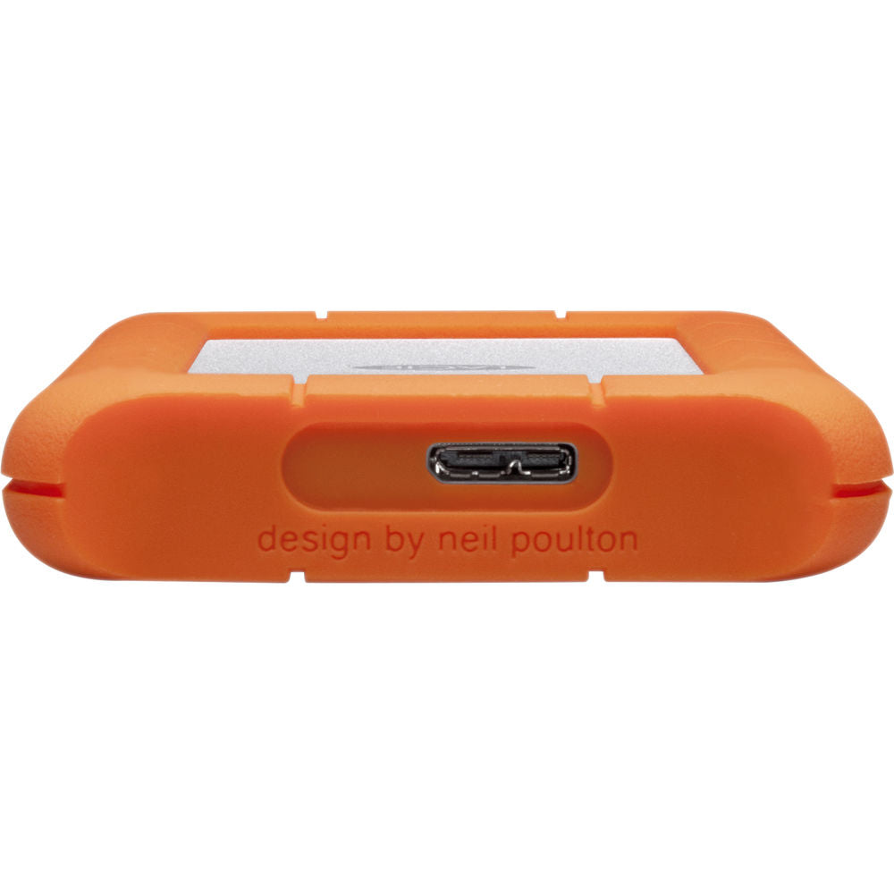 LaCie 4TB Rugged Mini USB 3.0 External Hard Drive