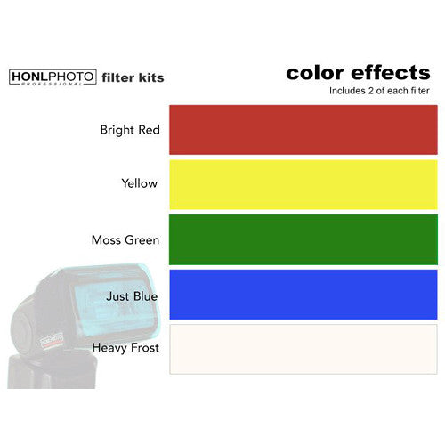 Honl Photo Color Effects Filter Kit for Honl Photo Speed System