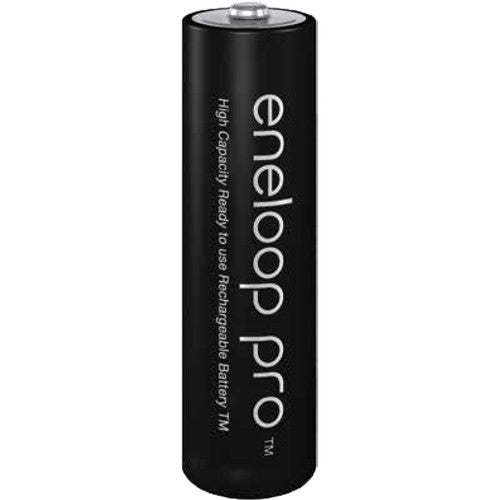 Panasonic eneloop pro AA Rechargeable NiMH Batteries (1.2V, 2500mAh, 4-Pack)