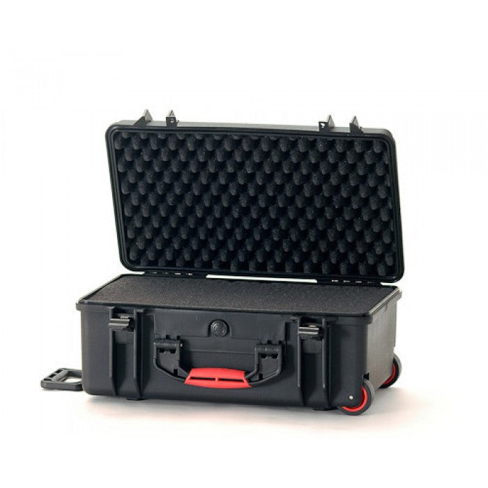 HPRC 2550 Wheeled Hard Case With Cubed Foam Interior (Black)