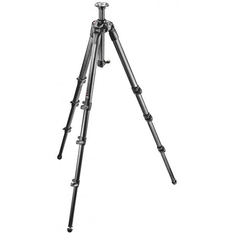 Manfrotto 057 4-Section Carbon Fiber Tripod W/ Rapid Column