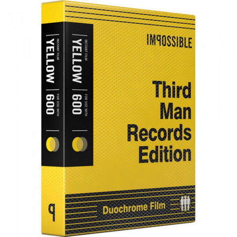 Impossible Third Man Records Black & Yellow Duochrome Film