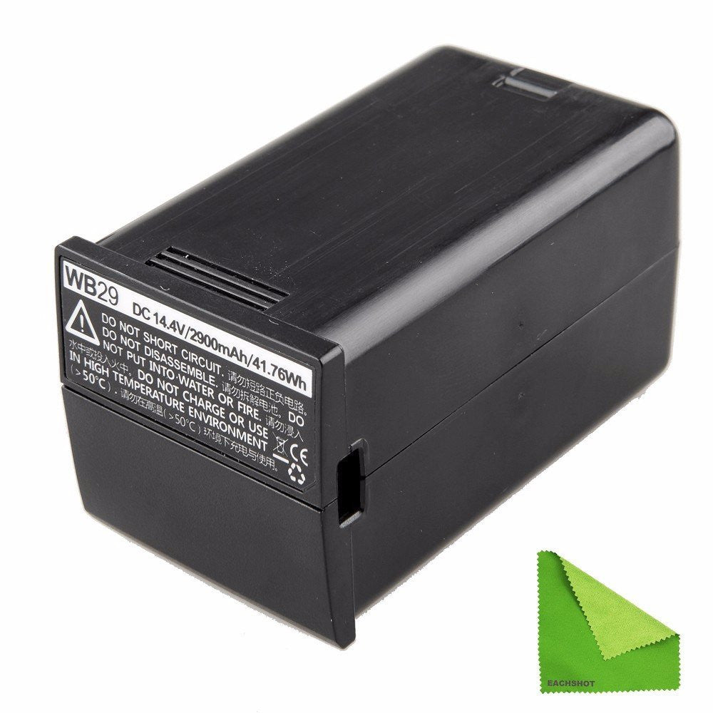 Godox WB29 14.4V 2900mAh 41.76Wh Lithium Battery Pack for AD200 AD-200