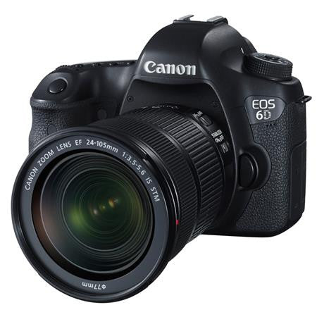 Canon 6d DSLR CAMERA with 24-70mm Kit Lens