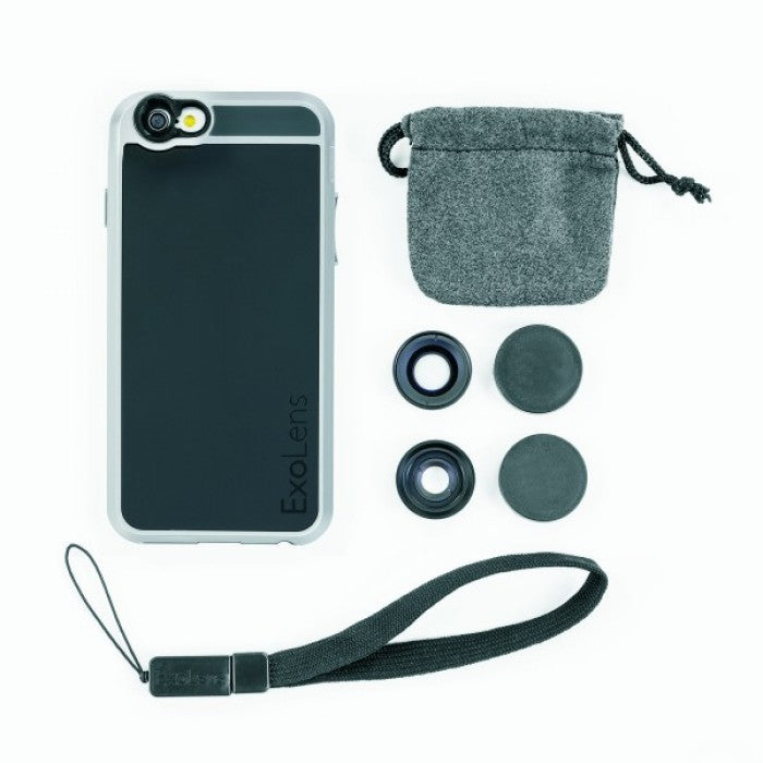 ExoLens Case (2-Lens Kit) For IPhone 6/6s