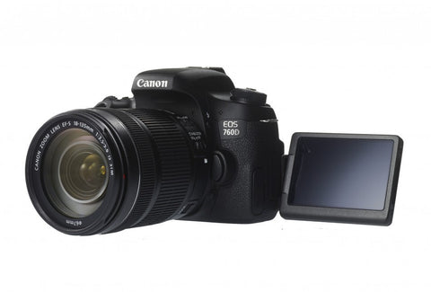 Canon EOS 760D DSLR Camera with 18-135mm Lens