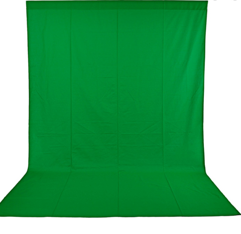 Provision Muslin Background 3*6M Green