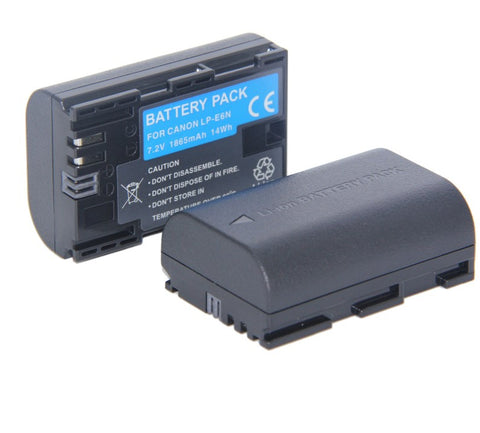 DT  7.2V DSLR Camera Battery LP-E6N LP E6N For Canon 5DS 6D Mark ii iv iii