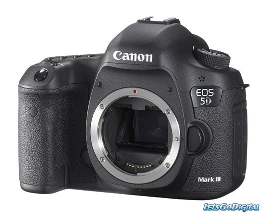 Canon EOS-5D Mark III Digital SLR Camera Body, 22.3 Megapixels