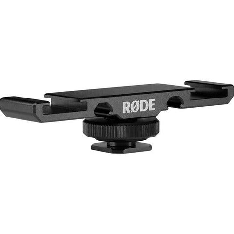 Rode Dual Cold Shoe Mount for Wireless GO