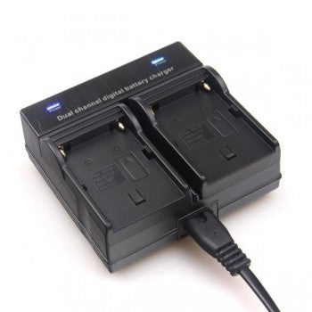 Dual Battery Charger for Sony NP970