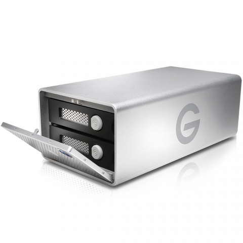 G-Technology 20TB G-RAID Removable Thunderbolt 3 & USB-C 3.1G2 Silver