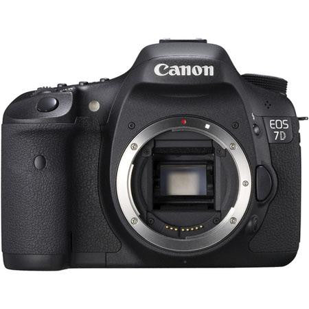 Canon EOS-7D Digital SLR Camera Body, 18.Megapixels, with Advanced Movie Mode & 8 FPS Shooting
