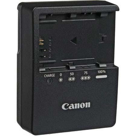 Canon LC-E6 Compact Battery Charger for the LP-E6 Battery Packs