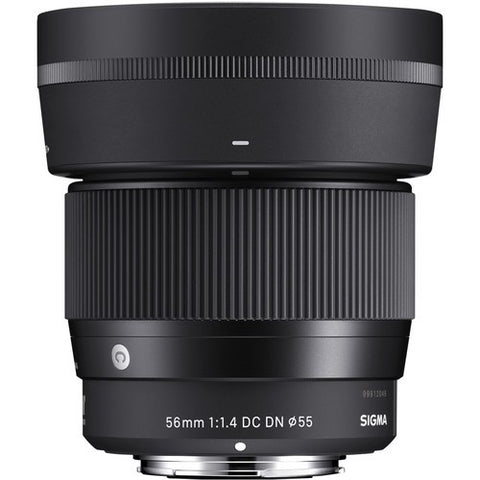 SIGMA 56MM F1.4 DC DN CONTEMPORARY LENS FOR SONY E