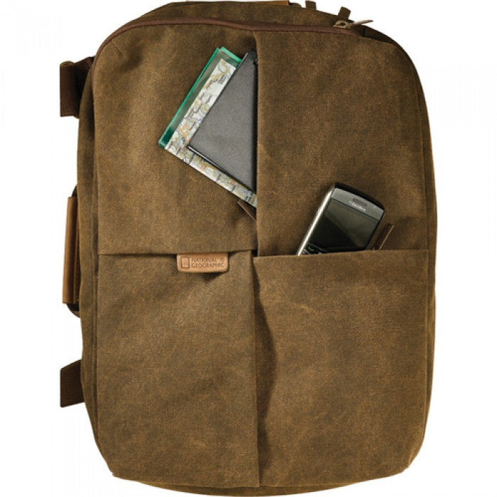 National Geographic NG A5250 Africa Series Small Rucksack/Shoulder Bag (Brown)