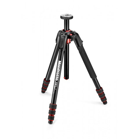 Manfrotto 190 Go! Aluminum 4 Section Tripod With Twist Locks Black