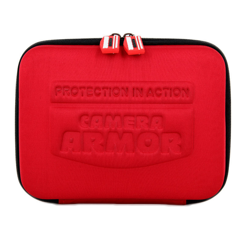 Camera Armor Action Camera Case  RED - 9 inch