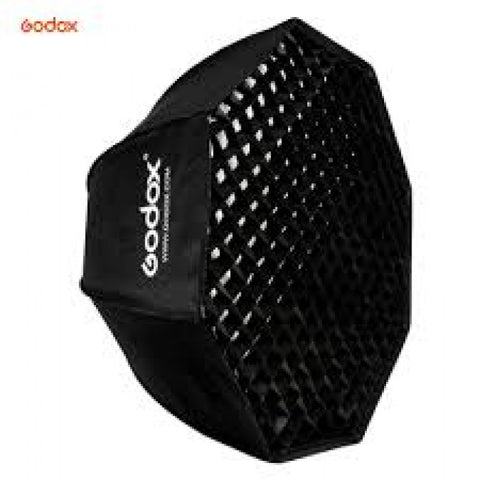 Godox Octa Umbrella Softbox With Grid Bowens Mount 80 Cm