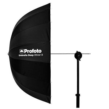 "PROFOTO DEEP 33"" UMBRELLA, SMALL, SILVER"