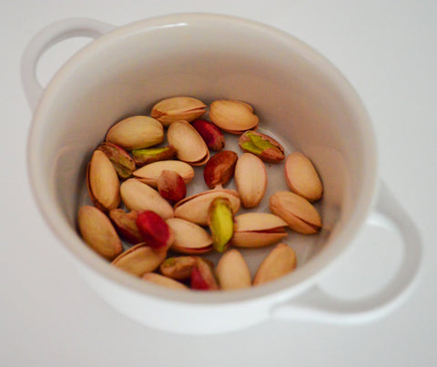 Healthy snacking: 30 pistachios contain about 100 calories