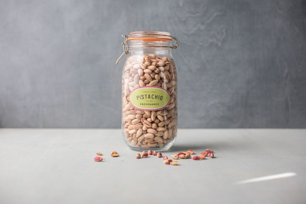 Coming Soon- Pistachio filled Kilner Jar