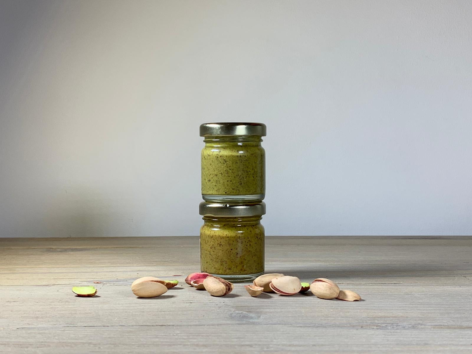 35g Mini Original Pistachio Provenance Nut Butter Toasted in lemon and sea salt