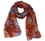 Women's oblong Silk scarf