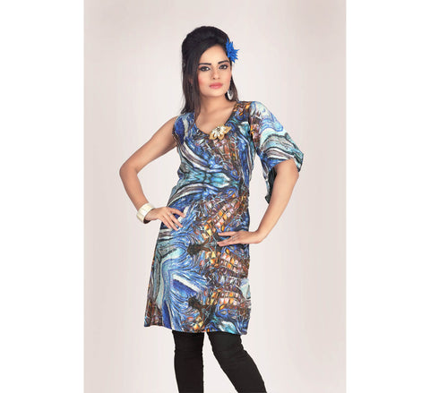Hi fashion Silk Tunic