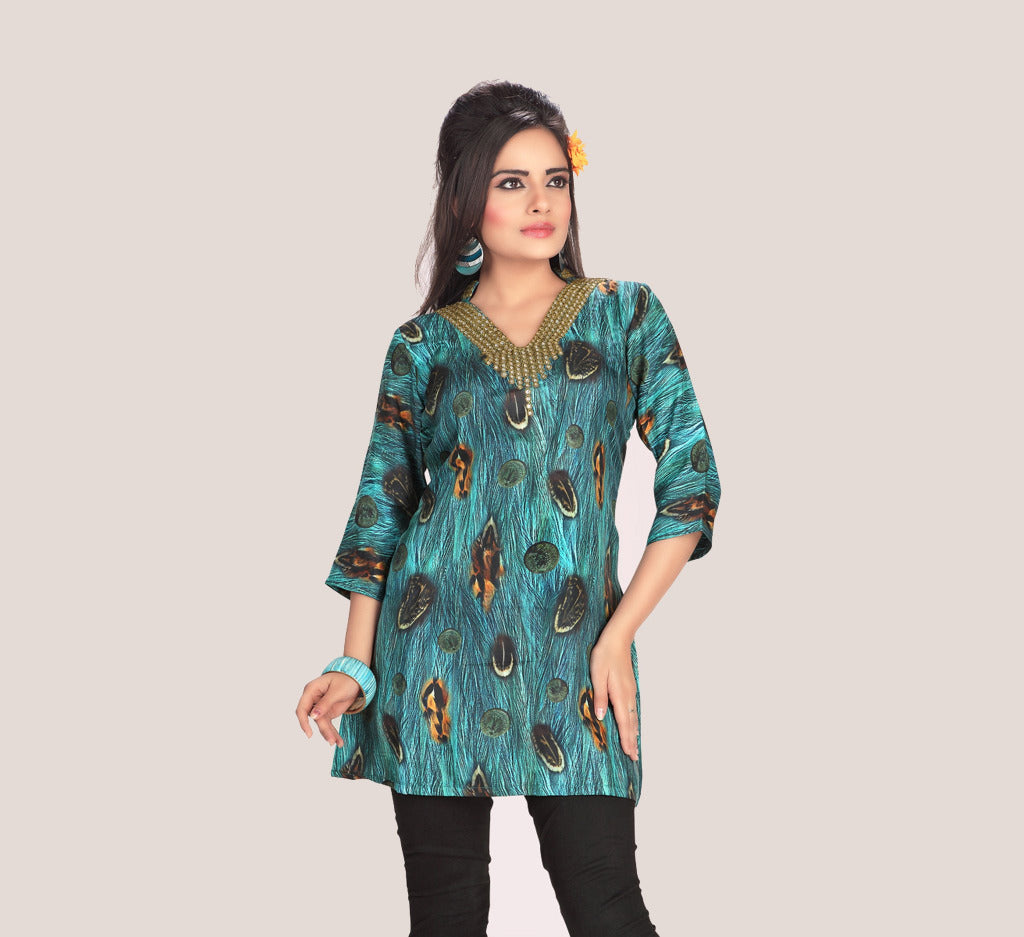 Silk Tunic - Indian Kurti